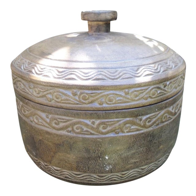 Washed Tribe Pot & Lid - Image 1 of 2