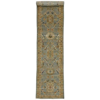 Early 21st Century Vintage Neoclassical Style Persian Sultanabad Extra-Long Runner- 3′3″ × 19′5″ For Sale