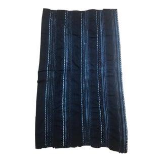 Blue Striped Van Verre Fabric For Sale