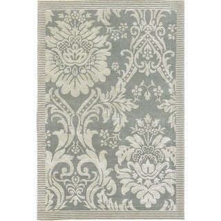 """Contemporary Hand Woven Rug - 4'1"""" x 6'1"""" For Sale"""