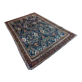 Antique Persian Malayer Rug - 4′4″ × 6′6″ For Sale