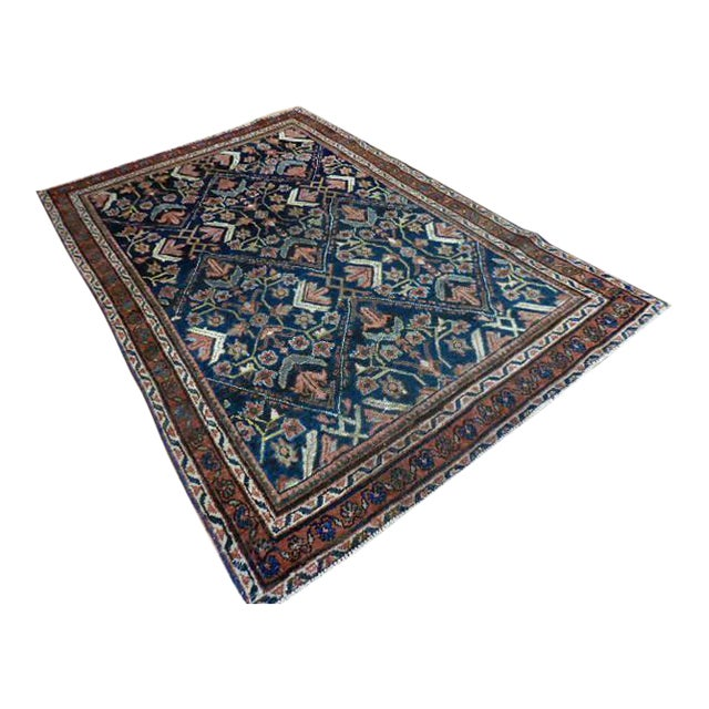 Image of Antique Persian Malayer Rug - 4′4″ × 6′6″
