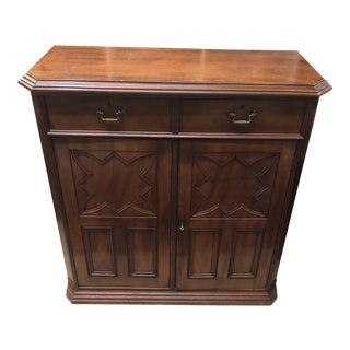 1870's English Traditional Mahogany Server
