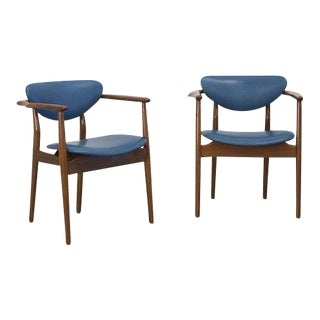 FINN JUHL Pair of armchairs ca. 1950 For Sale