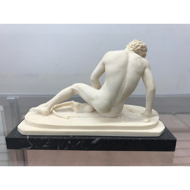 Neoclassical Male Nude Gallo Sculpture - Image 3 of 5