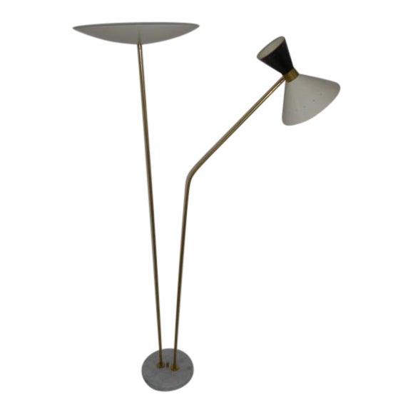 1960 Stilnovo Style Italian Floor Lamp For Sale