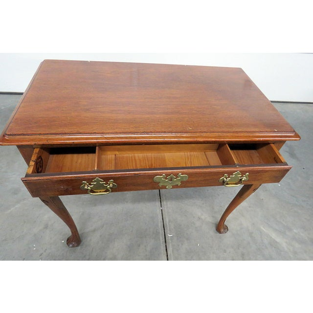 Kittinger Queen Anne Style Writing Desk For Sale In Philadelphia - Image 6 of 8