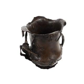 Art Nouveau Antique Bronze/Copper Vase For Sale