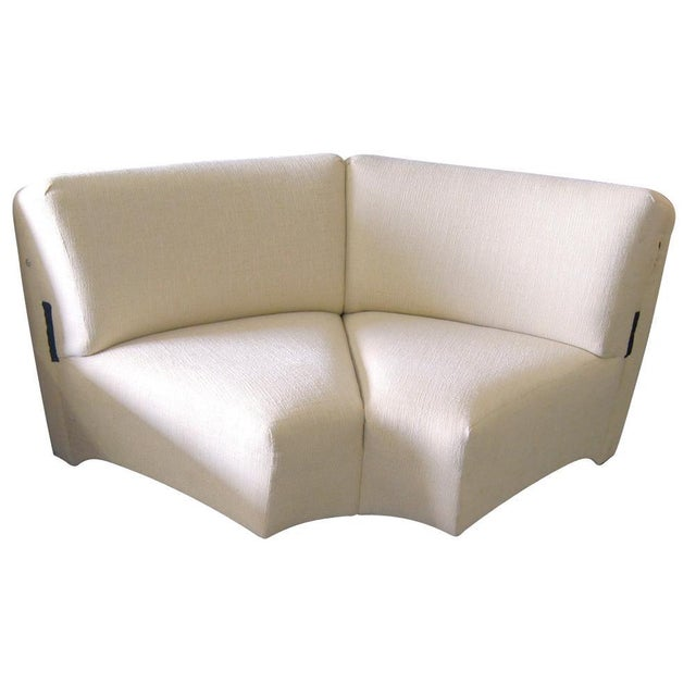 Thonet Large Serpentine Sectional Sofa For Sale In Houston - Image 6 of 9