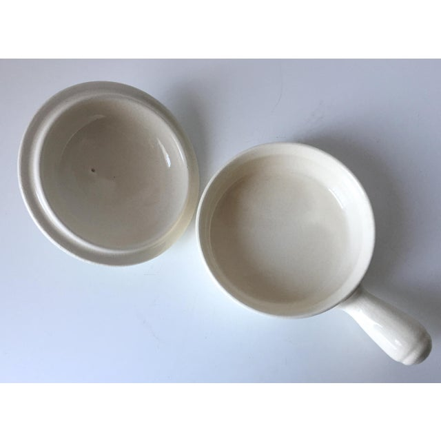 8 Vintage Onion Soup Covered Dishes For Sale - Image 4 of 9
