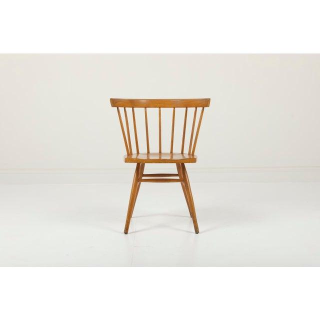 George Nakashima   Knoll USA, Design 1947 Maple Vintage George Nakashima model N19 Straight chair for Knoll Associates...
