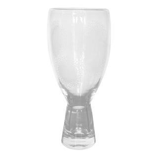 Vintage Bengt Orup Johansfors Clear Glass Vase
