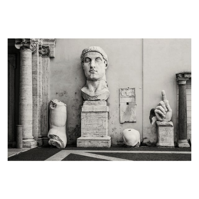 Constantine the Great - Photograph by Guy Sargent For Sale