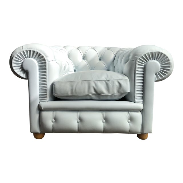 Poltrona frau chester one leather club chair chairish for Chester poltrona frau