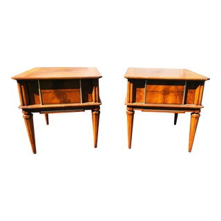 Mid-Century Modern Nightstands- a Pair For Sale
