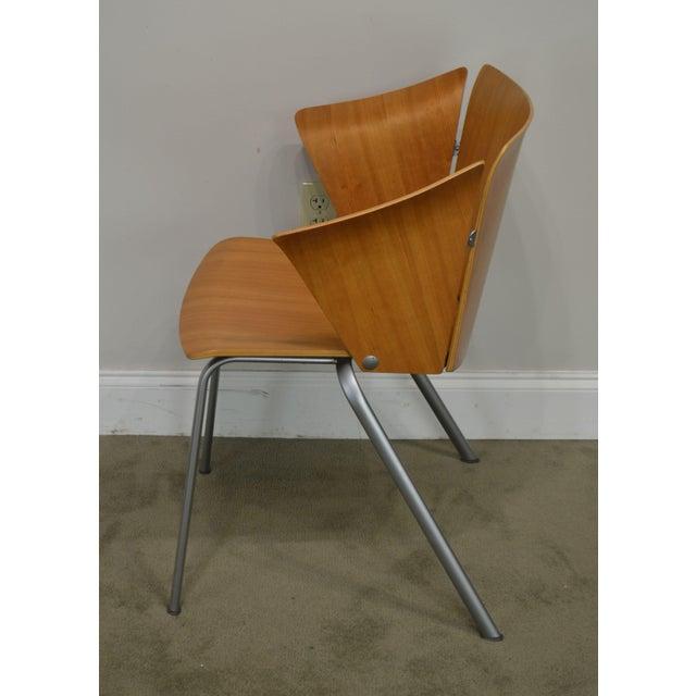 Vico Magistretti for Fritz Hansen Danish Modern Armchair For Sale In Philadelphia - Image 6 of 13