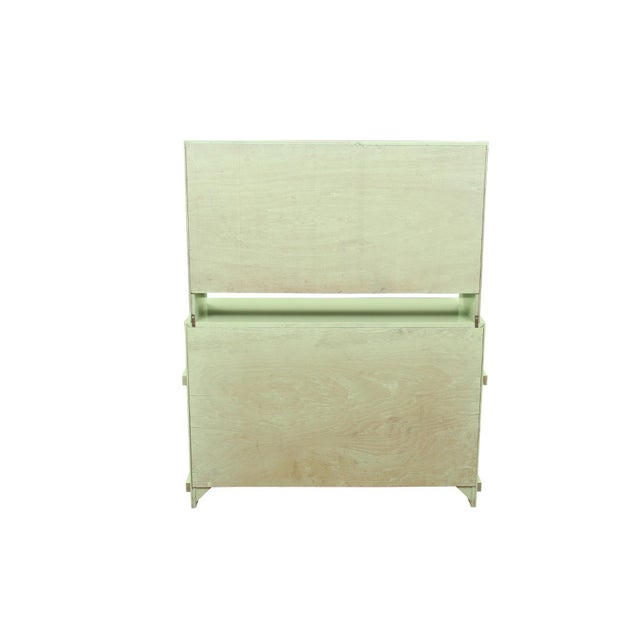 Basic Witz Midcentury Green Sideboard For Sale - Image 10 of 11
