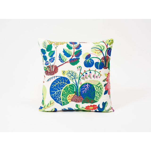 Schumacher Schumacher Pillow in Exotic Butterfly Spring Print For Sale - Image 4 of 7