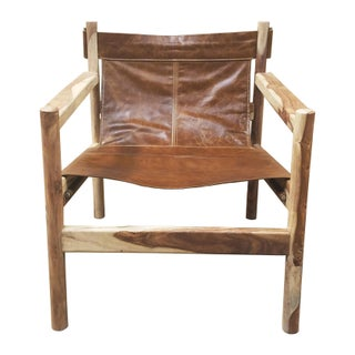 Leather Sling Club Chair Preview