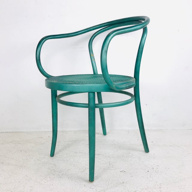1970s Set of 8 Thonet Bentwood Dining Chairs For Sale - Image 5 of 10