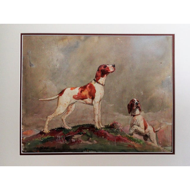 Sporting Dogs in a Highland Landscape For Sale - Image 9 of 9