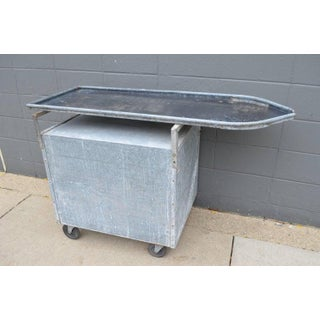 Bar / Potting Table / Plant Stand on Wheels of Industrial Galvanized Steel Preview
