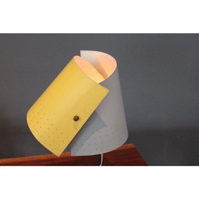 1950s Lester Geis T-5-G Lamp for Heifetz, 1951 For Sale - Image 5 of 11