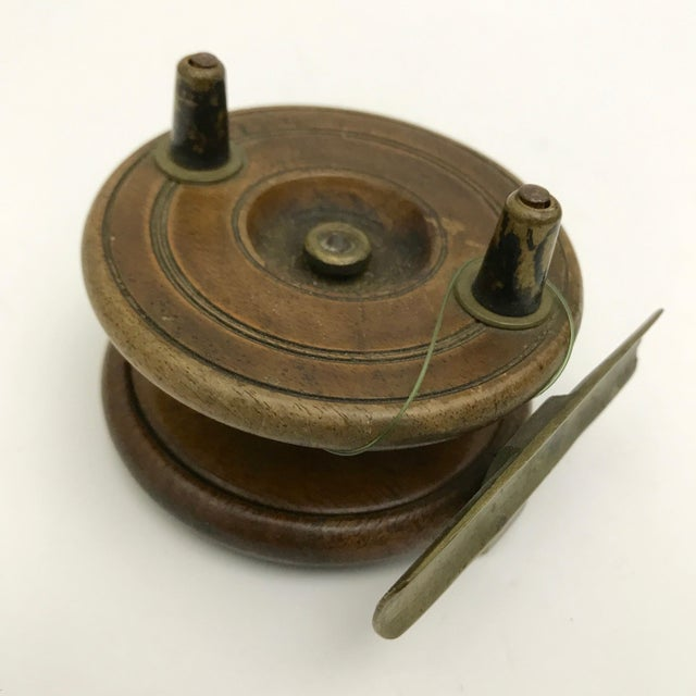 19th Century English Fishing Reel For Sale - Image 5 of 5