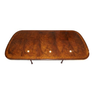 Traditional Drexel Heritage Heirloom Dining Room Table For Sale