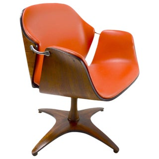 Swivel Chair by Mulhauser for Plycraft For Sale