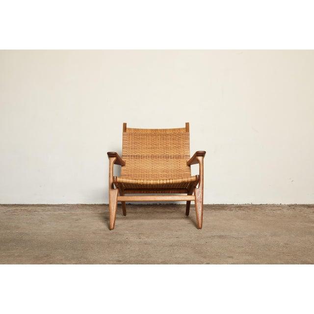 Hans Wegner Ch-27 Chair, Carl Hansen & Son, Denmark, 1950s For Sale - Image 6 of 11