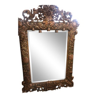 Oversized Mirror With Resin Facing Le Belvedere Estate For Sale