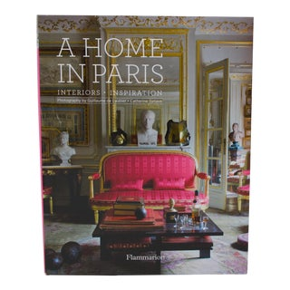 "1st Ed 2014 ""A Home in Paris"" Coffee Table Book Flammarion For Sale"