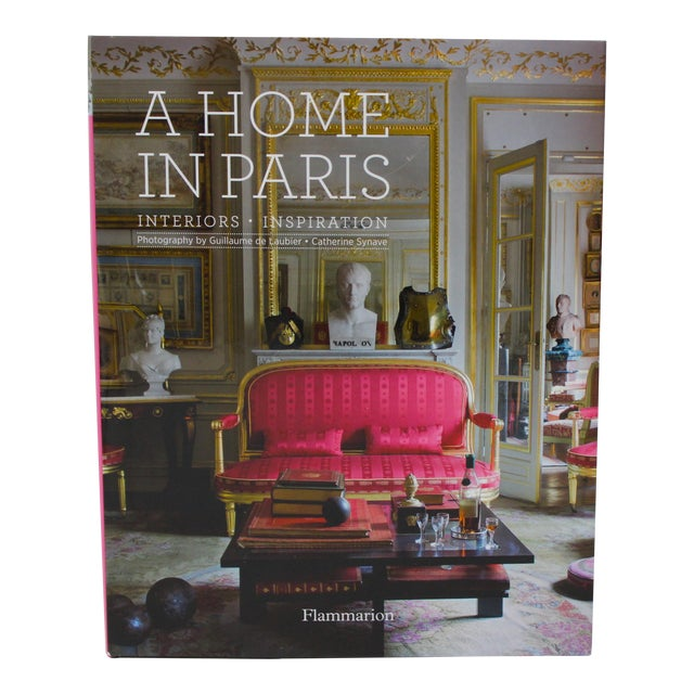 """1st Ed 2014 """"A Home in Paris"""" Coffee Table Book Flammarion For Sale"""