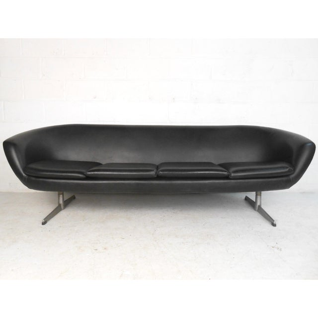 Mid-Century Overman Four-Seat Sofa - Image 2 of 9