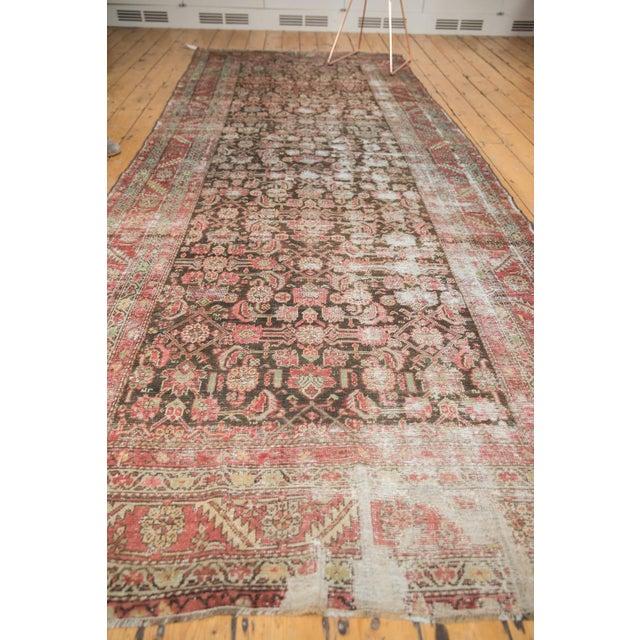 """Antique Distressed Karabagh Rug Runner - 5'4"""" X 13' For Sale - Image 10 of 13"""