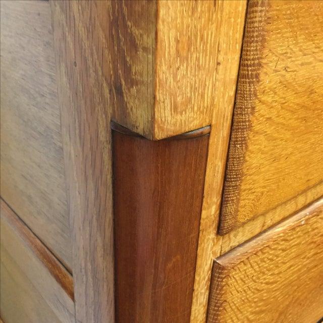 Vintage Oak 5 Drawer Dresser - Image 5 of 6