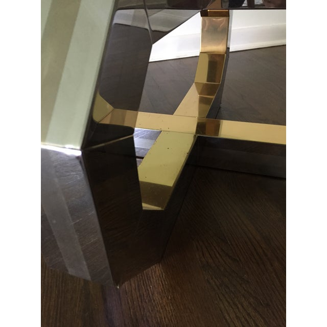 1980s Vintage Paul Evans Style Coffee Table For Sale - Image 5 of 7