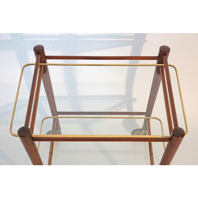 Cees Braakman Teak Searving Cart - Image 2 of 5