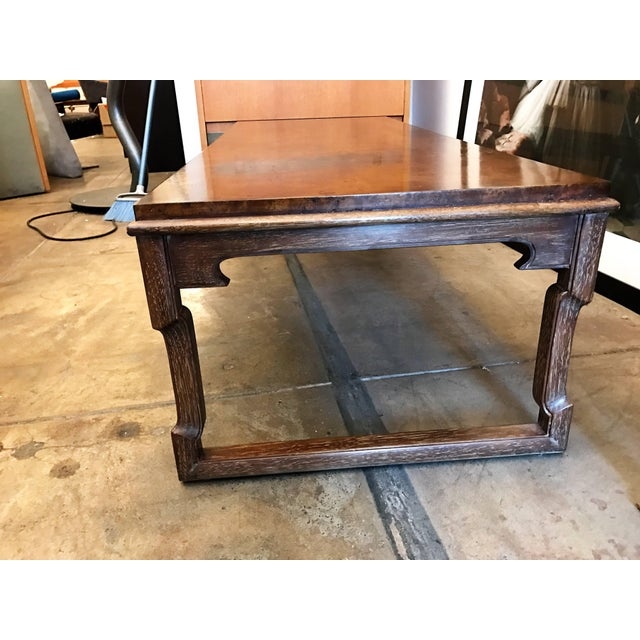 1960s American Tomlinson Walnut Coffee Table For Sale - Image 10 of 11