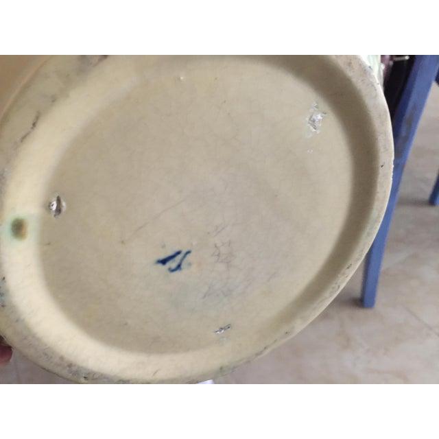 Roseville Florentine Pottery Pot For Sale - Image 4 of 5