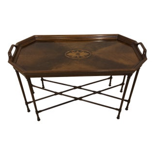 Vintage Councill Mahogany Tea Table For Sale