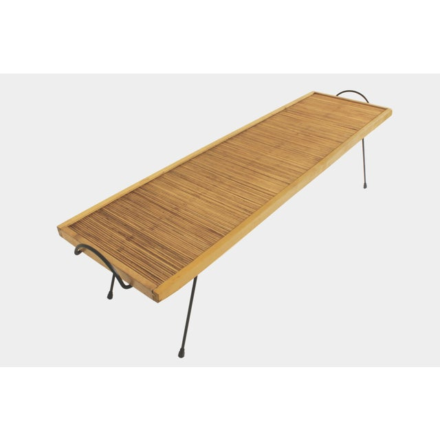 1950s Laverne Originals Mid-Century Dowel Coffee Table For Sale - Image 5 of 11