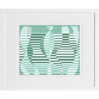 Josef Albers - Portfolio 1, Folder 2, Image 1 Framed Silkscreen For Sale