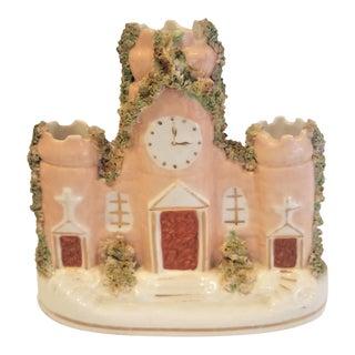 19th Century Porcelain Staffordshire Castle For Sale