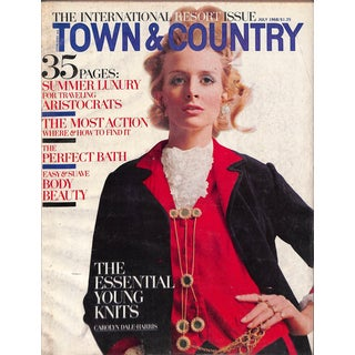 Town & Country July 1968 The International Resort Issue For Sale