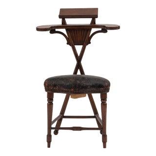 English Georgian Jefferson Reading Chair For Sale