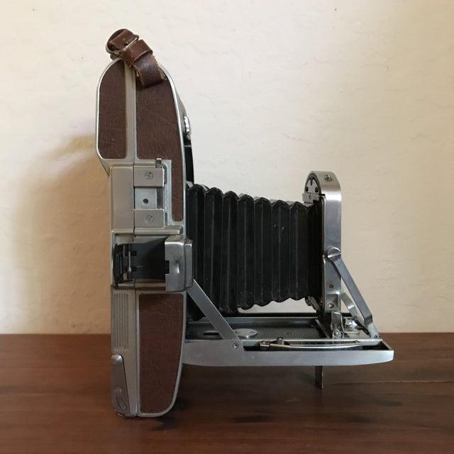 Model Land Movie: Vintage Polaroid Model 95a Bellows Land Camera