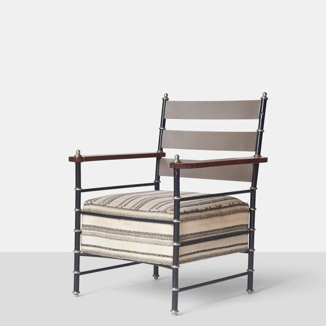 Silver Lounge Chair by Warren McArthur For Sale - Image 8 of 8