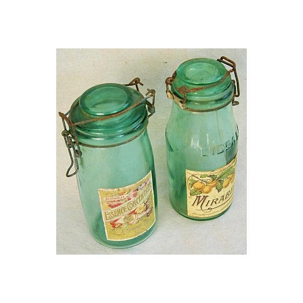 Early 1900s French Preserve Canning Jars - A Pair - Image 3 of 6